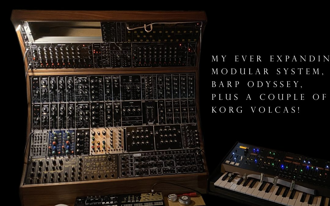 Modular synths – down the rabbit hole for the win!