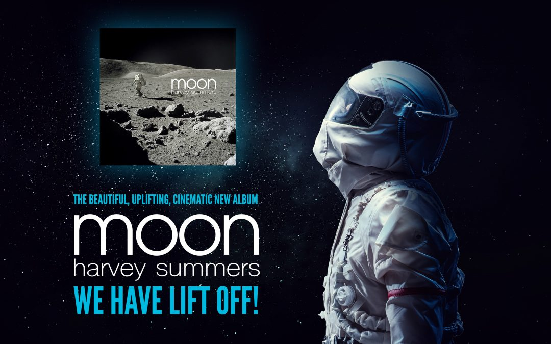 "Lift off for Harvey's epic new, cinematic album, ""Moon""!"